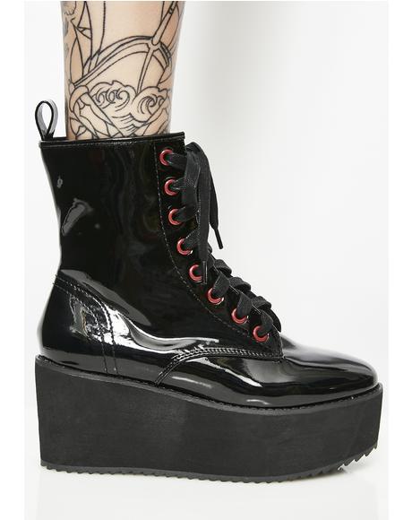 Stomp Hi Patent Boots