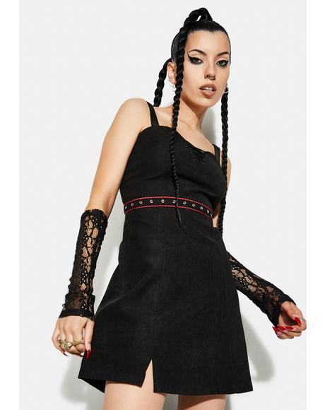 Punk Series Suspender Strap Dress