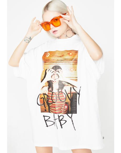 Groovy Baby Photo Tee