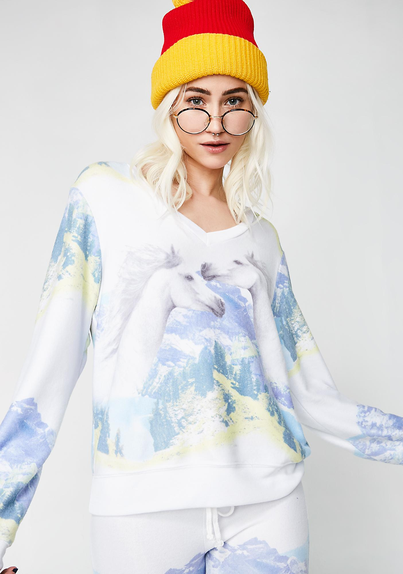 Wildfox Couture Wild Horses Baggy Jumper