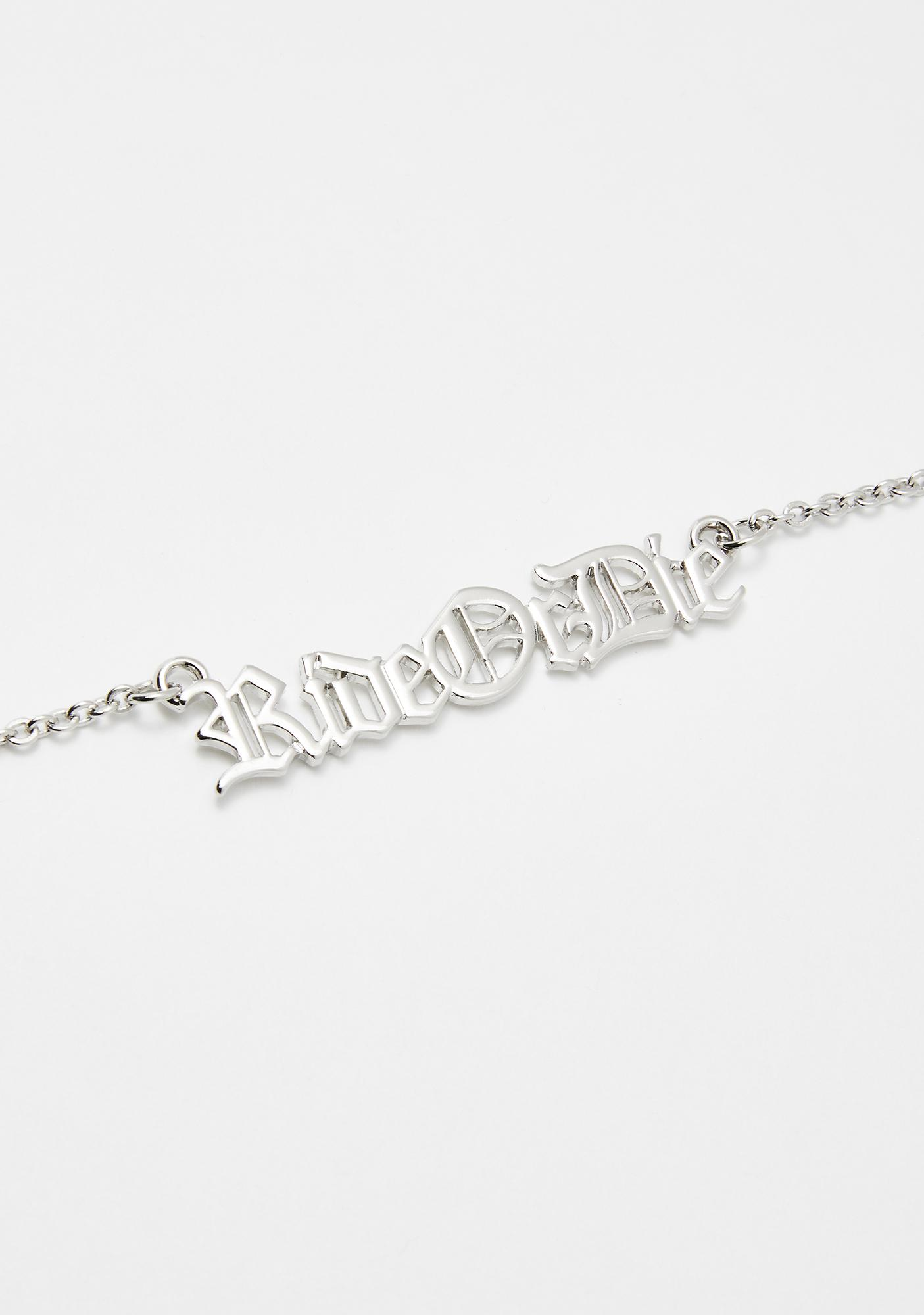 Ride Or Die Chain Necklace