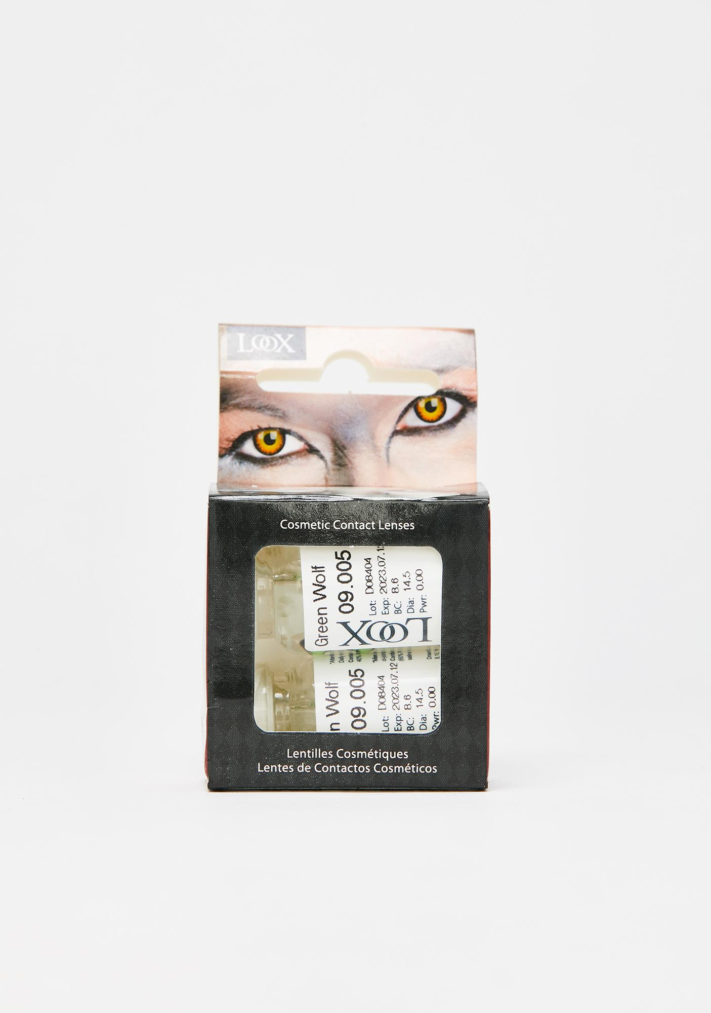 Werewolf Gaze Contact Lenses