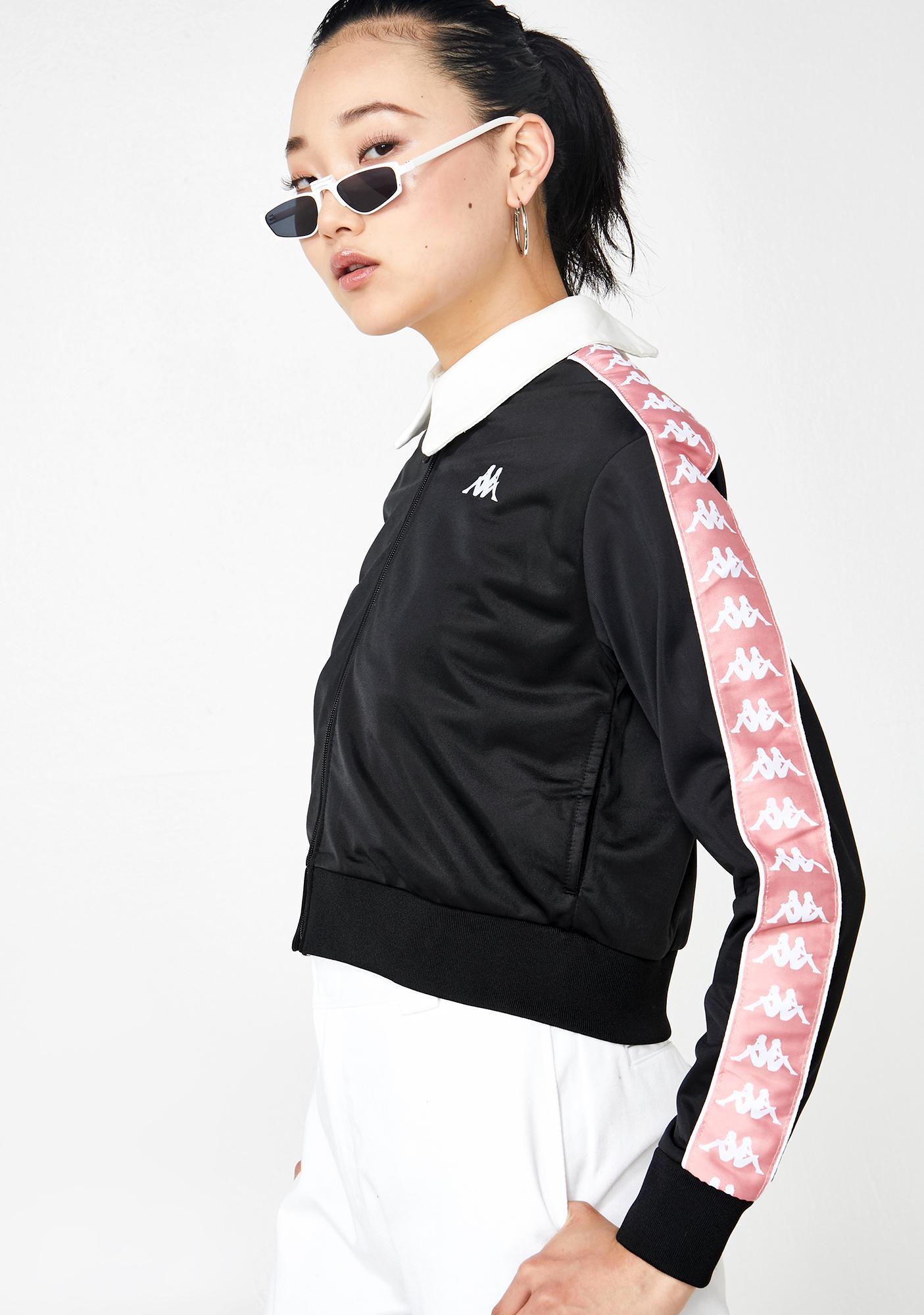 Kappa Dark 222 Banda Asber Crop Jacket