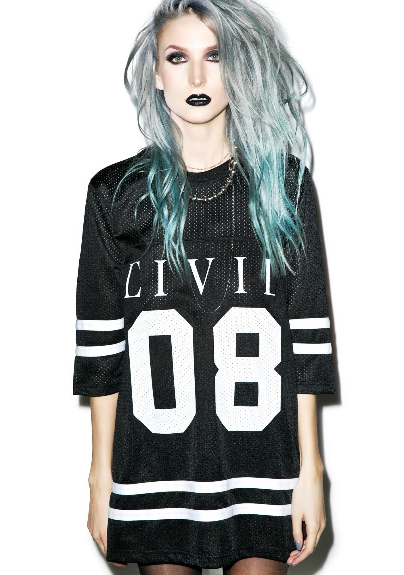 Civil Clothing Civil 08 Mesh Jersey Dress