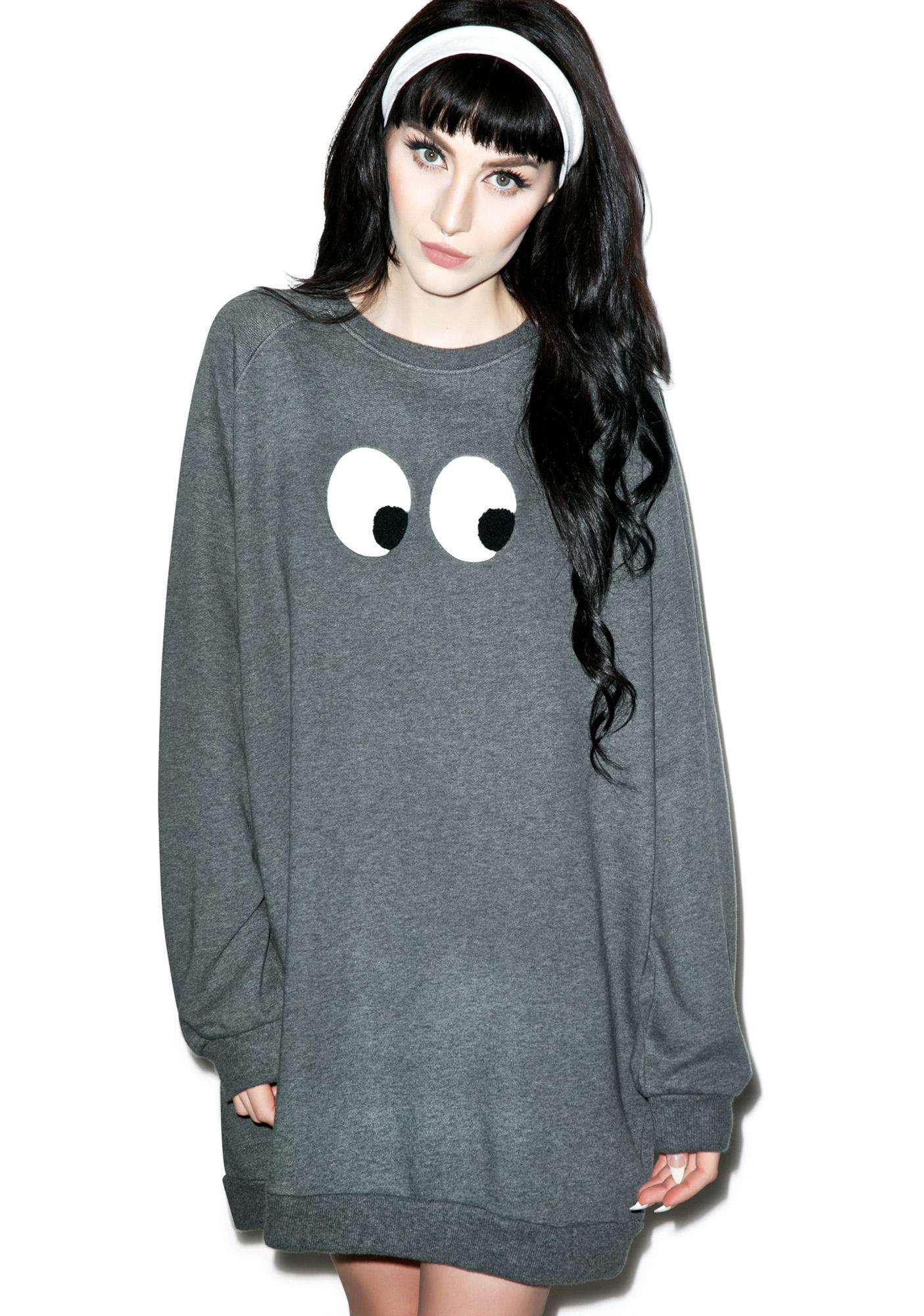 Lazy Oaf Eyeball Sweatshirt