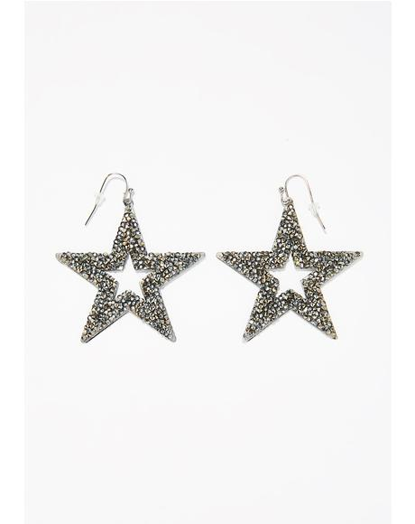 Polaris Star Earrings