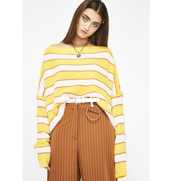 Show Me The Love Stripe Sweater