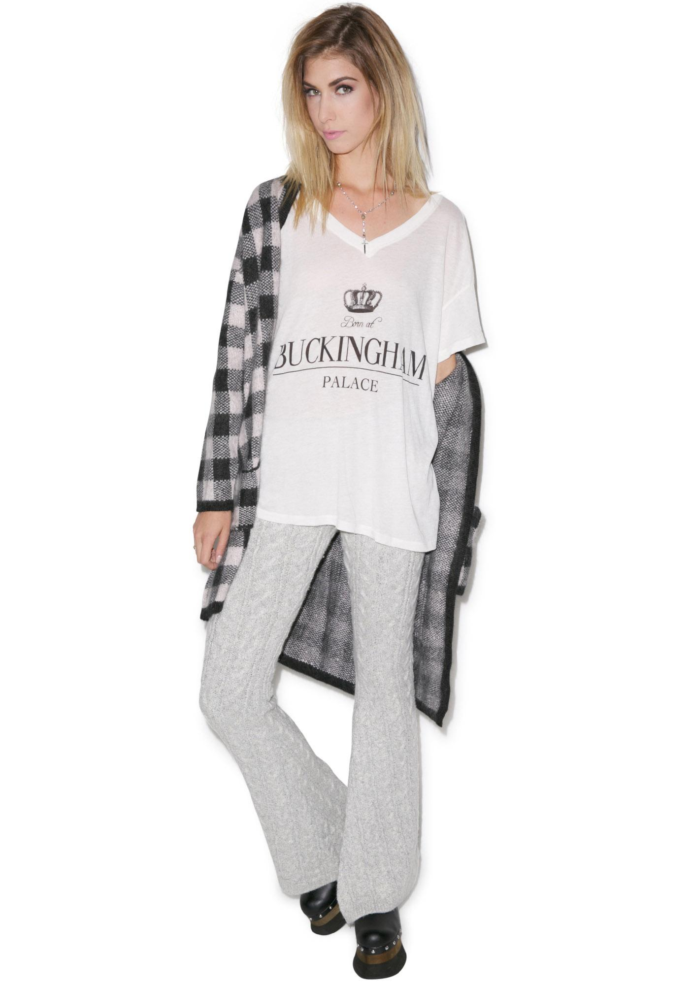 Wildfox Couture Secret Royal Oversized Tee