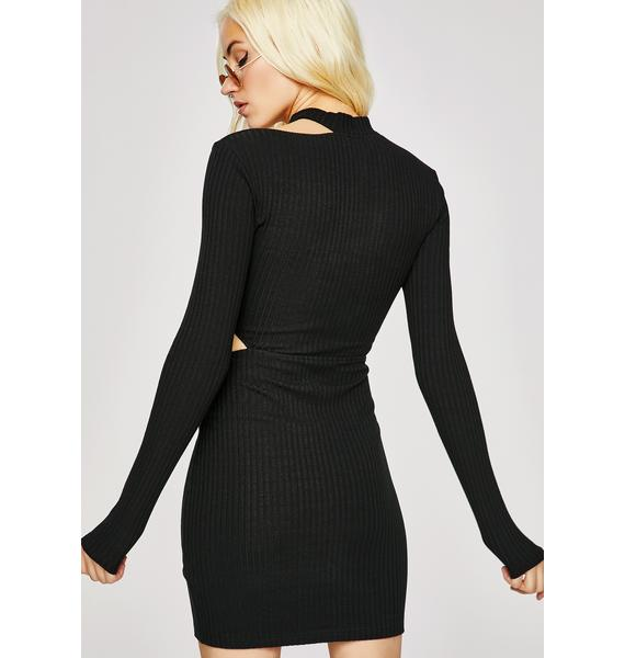 Like A Bauss Ribbed Dress