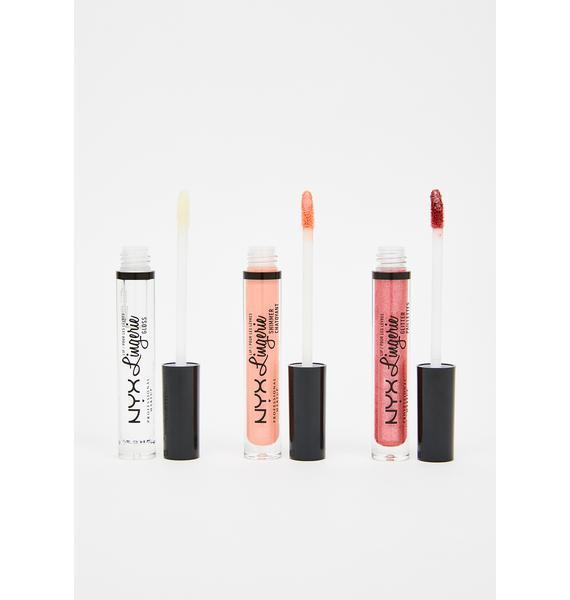 NYX Professional Makeup Love Lust Trio Lip Set