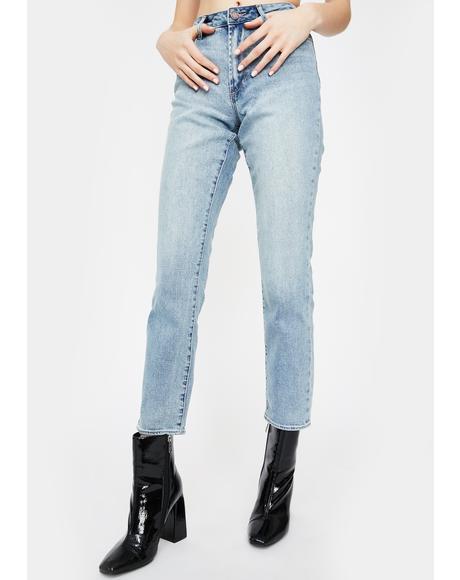 Eden Rene Straight Leg Jeans