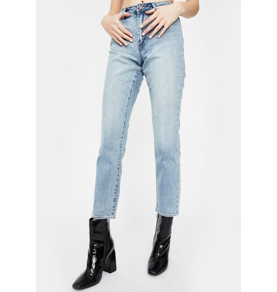 Articles of Society Eden Rene Straight Leg Jeans