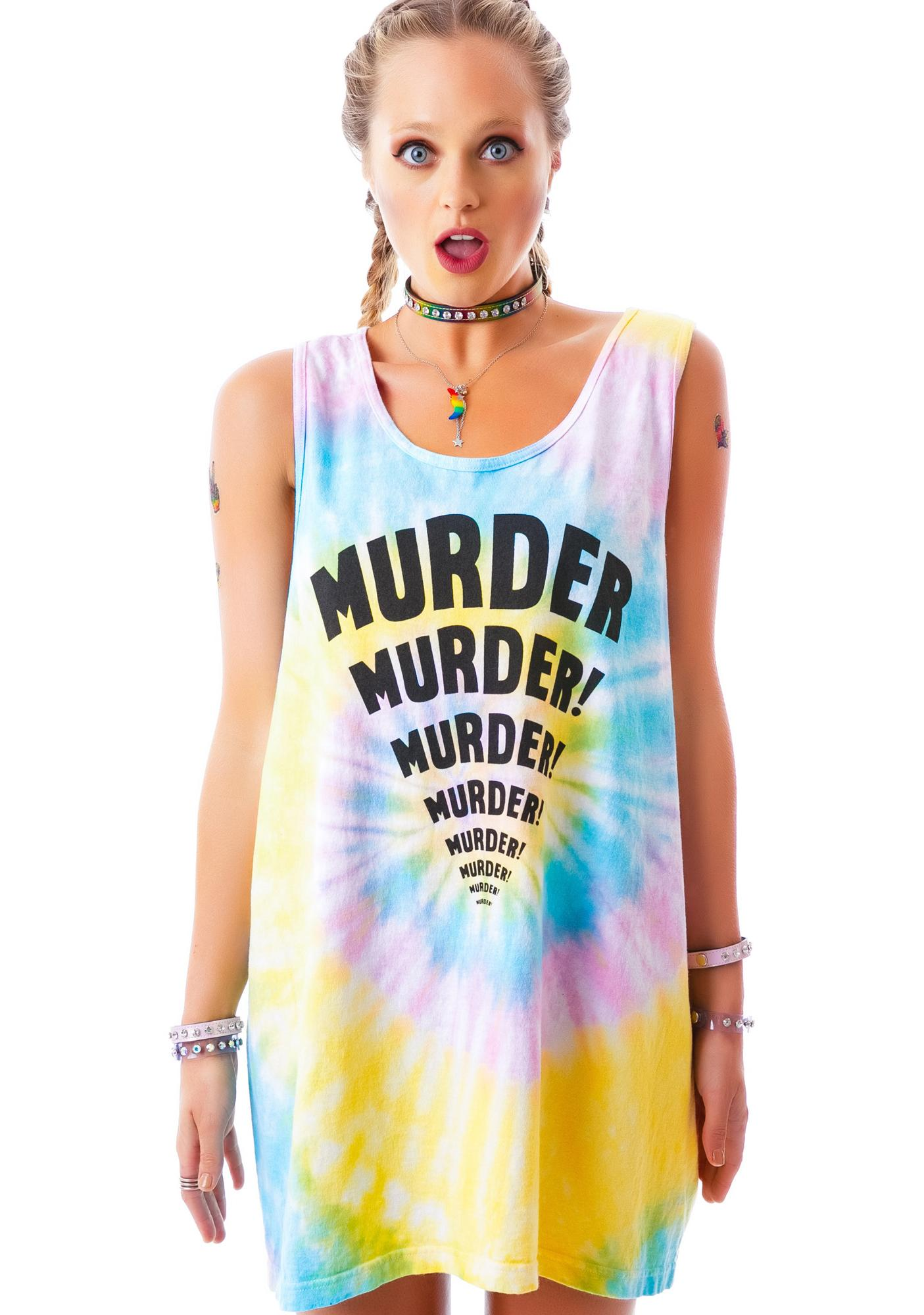United Couture Murder Boyfriend Tank Top