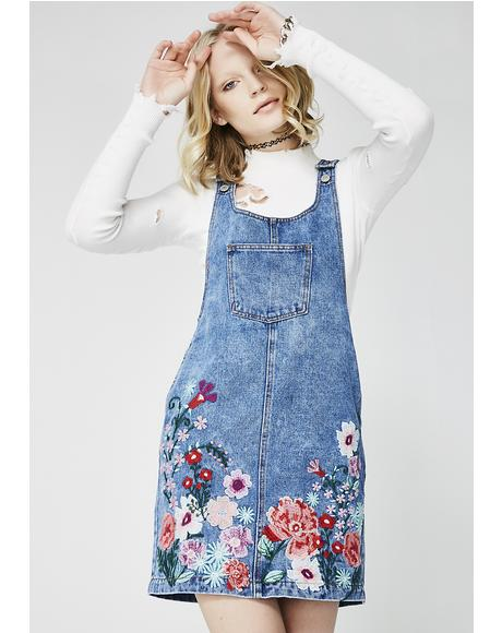 Garden Party Pinafore Dress