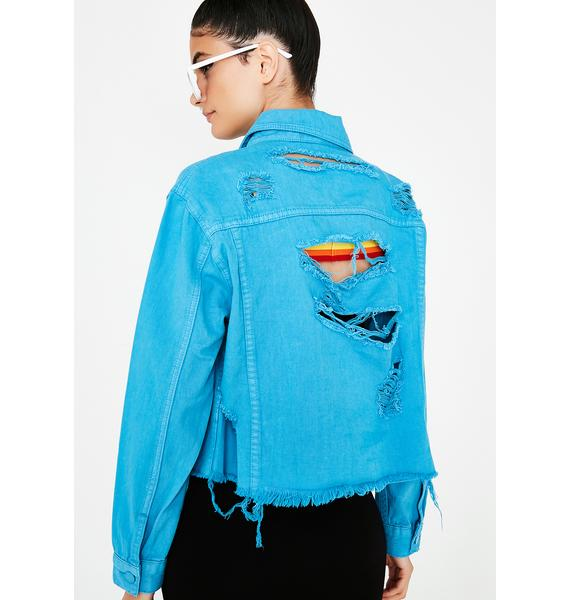 Follow Me Denim Jacket