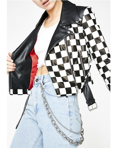 See Ya Checkin Moto Jacket