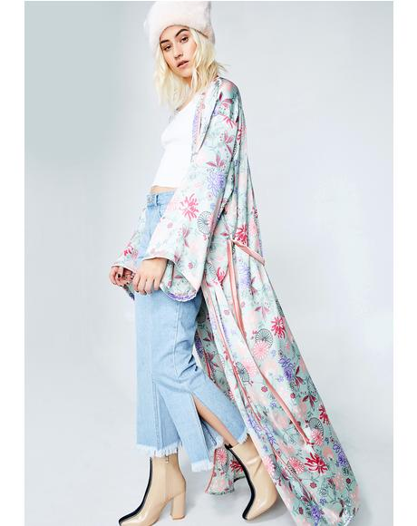 Blushing Princess Kimono