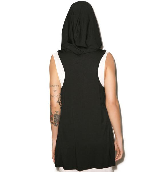 Killstar Kabbalah Hood Dress
