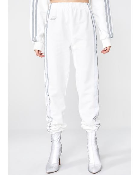 Frosted Mercury Trackpants