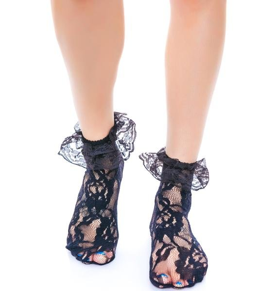 Lolita Lace Ruffle Ankle Socks