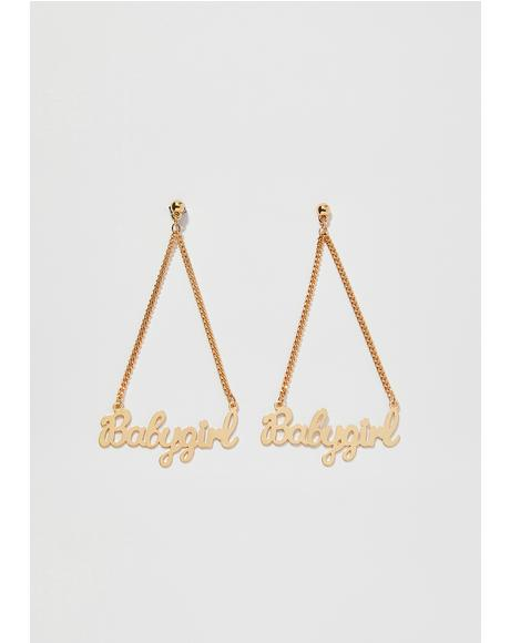 BB Girl Drop Earrings