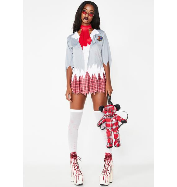 Perpetually Dead Zombie Schoolgirl Costume