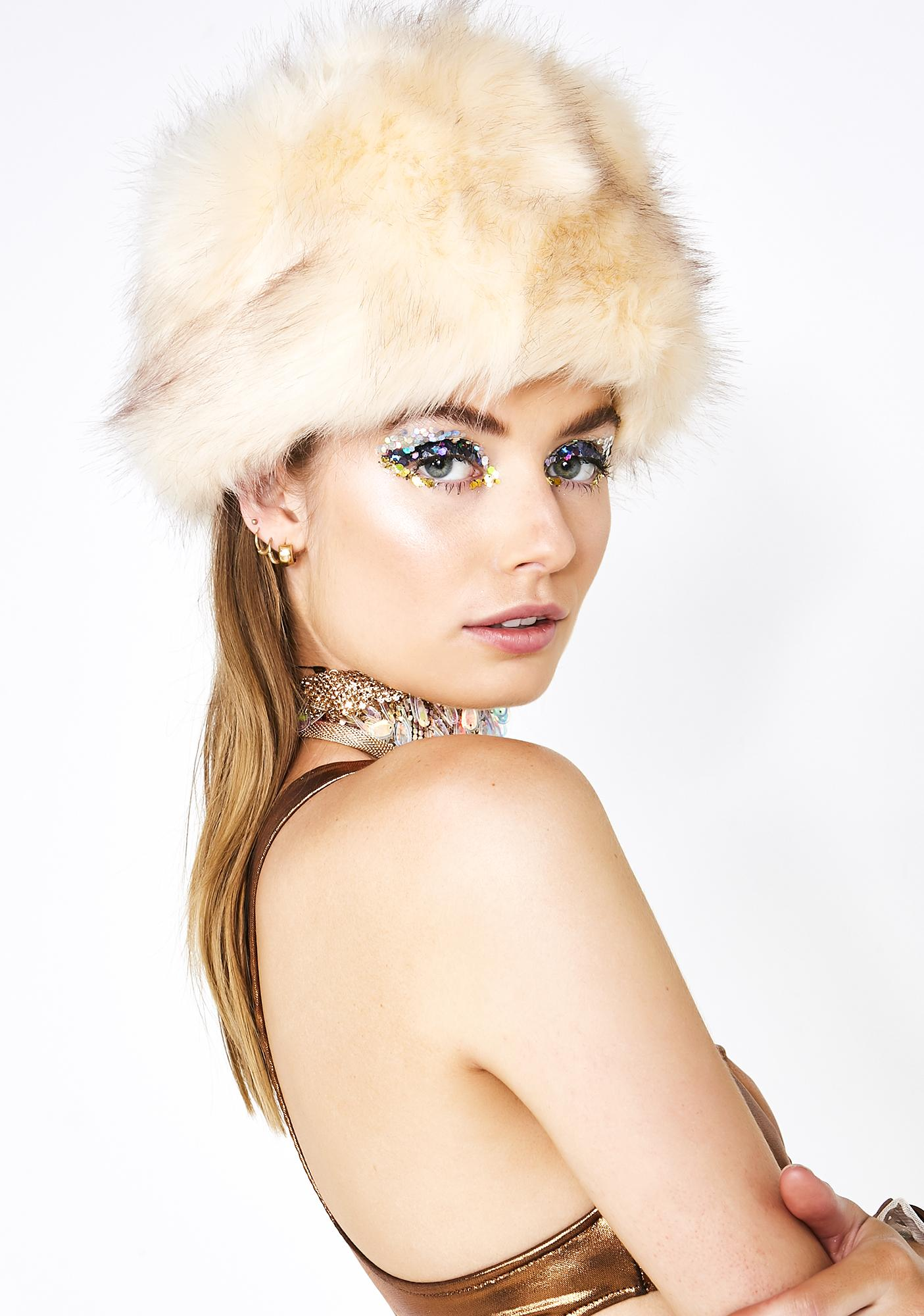 Joyful Rapture Furry Hat