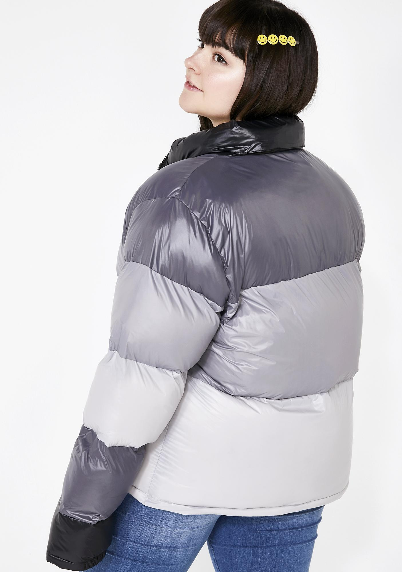 dELiA*s by Dolls Kill Life In The Past Lane Puffer Jacket