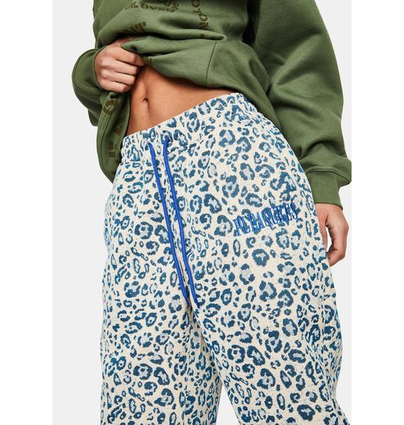 Pleasures Eclipse Cheetah Beach Pants