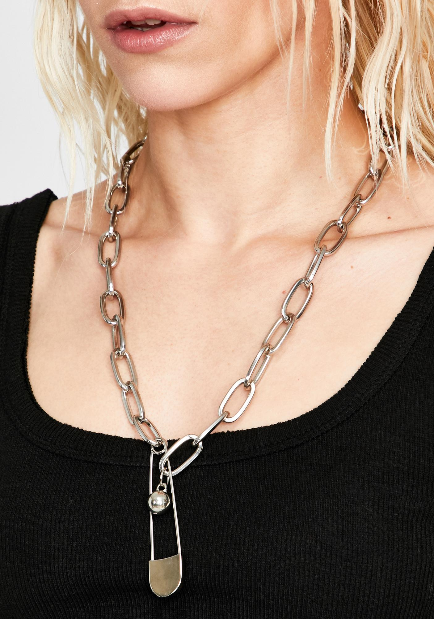 Ravage My Heart Chain Necklace