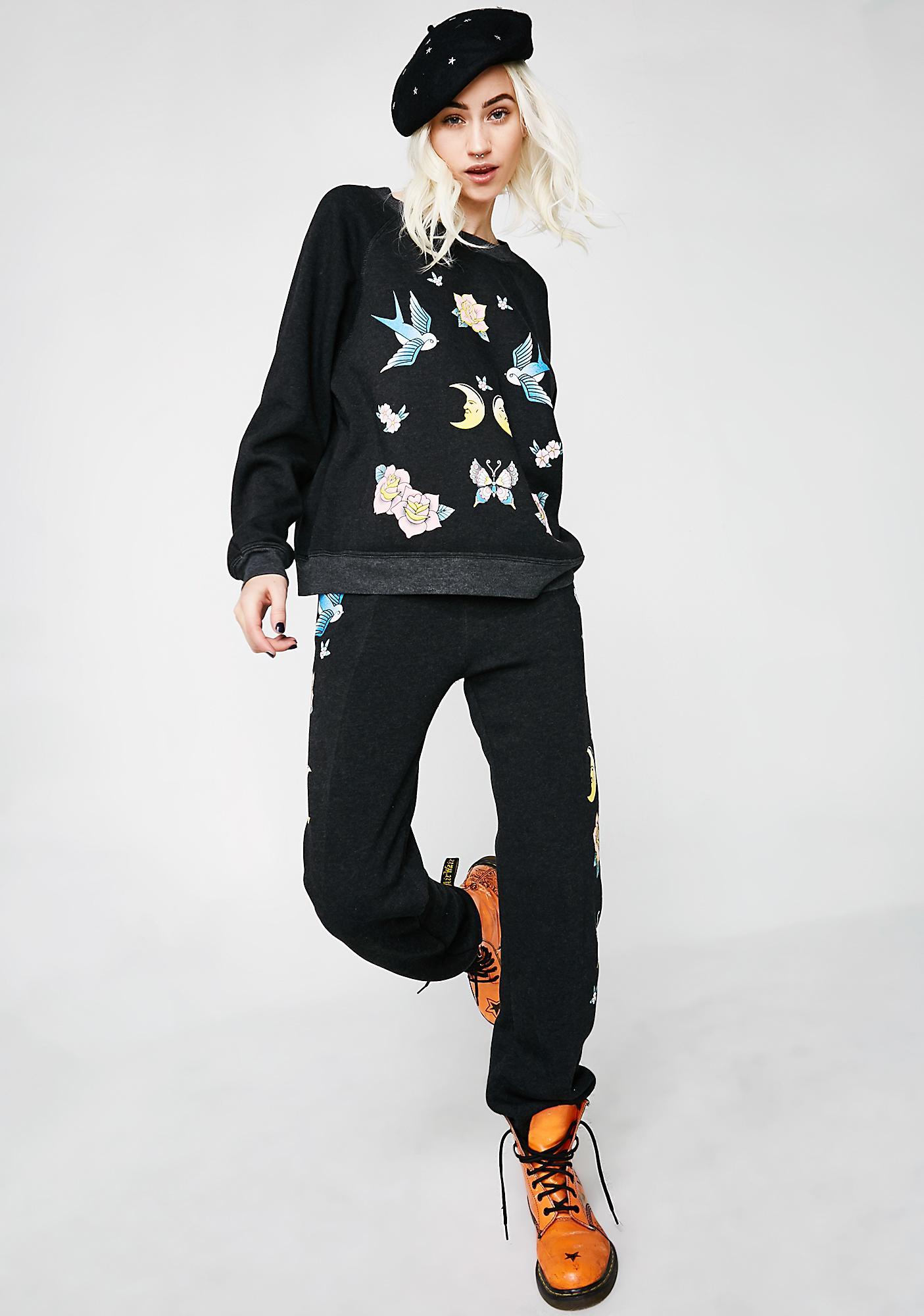 Wildfox Couture Flash Bottoms Easy Sweats