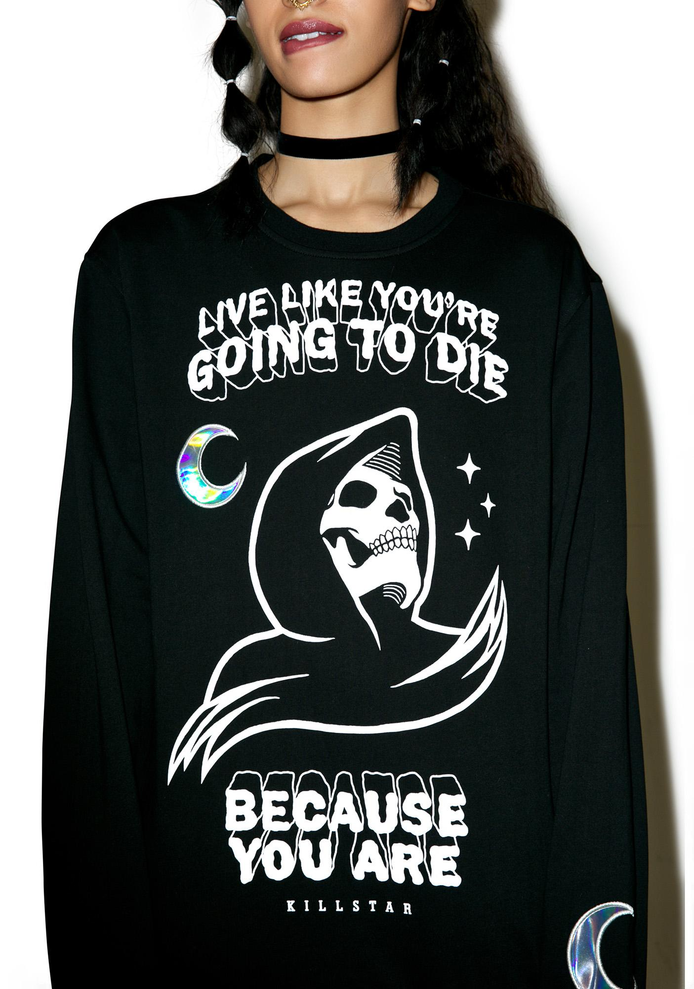 Killstar Certain Death Sweatshirt