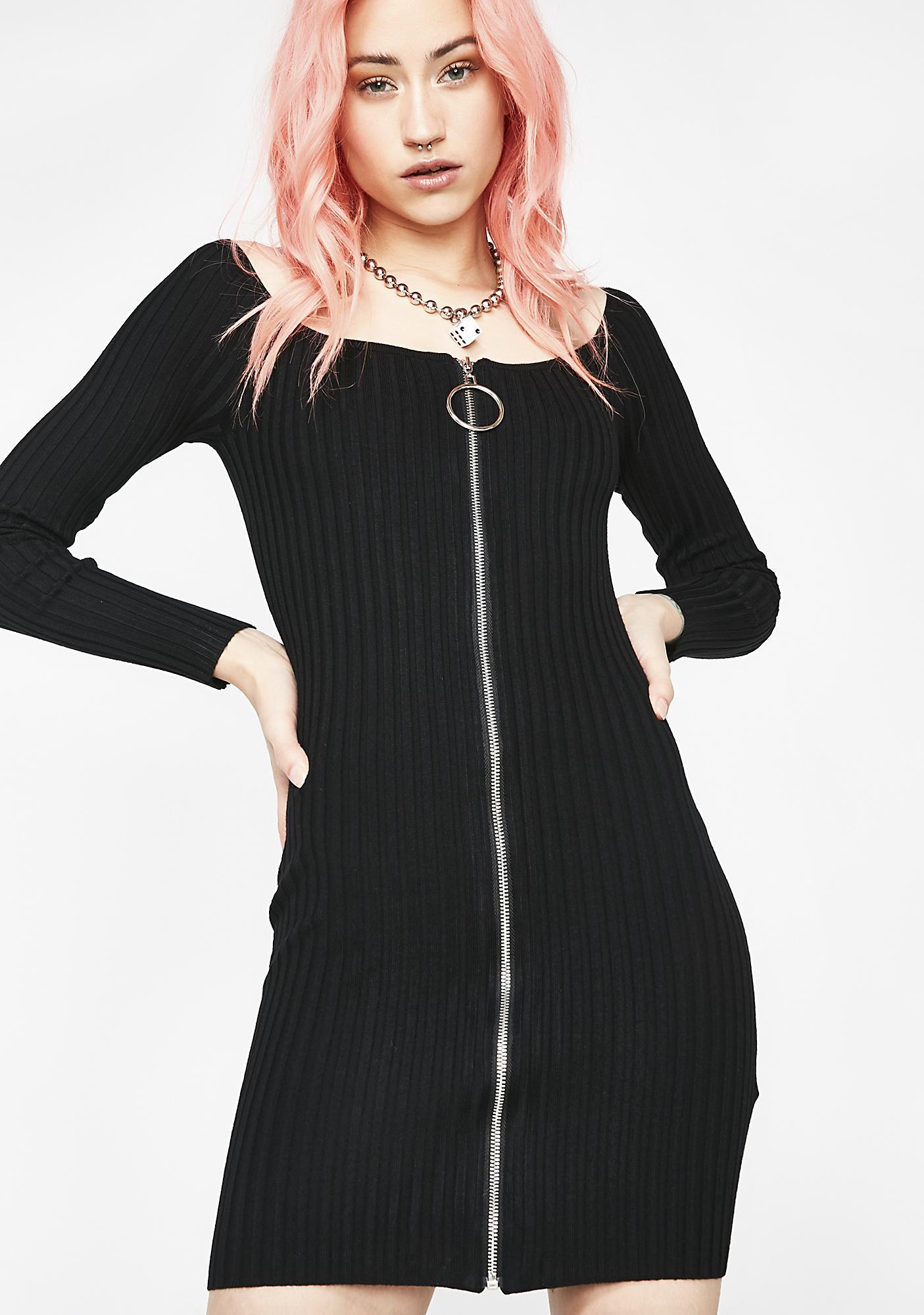 Clap Back O-Ring Dress