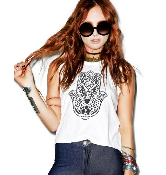 Junk Food Clothing Hamsa Tank