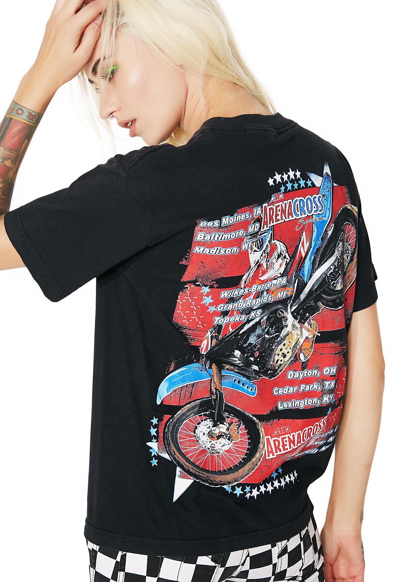 Vintage Arena Cross Moto Tee