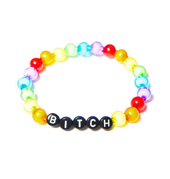 Bitchin Bead Bracelet