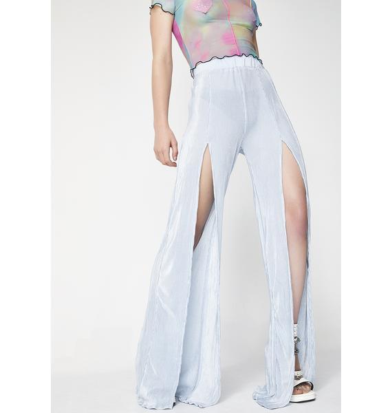 Lotus Flower Bomb Slit Pants
