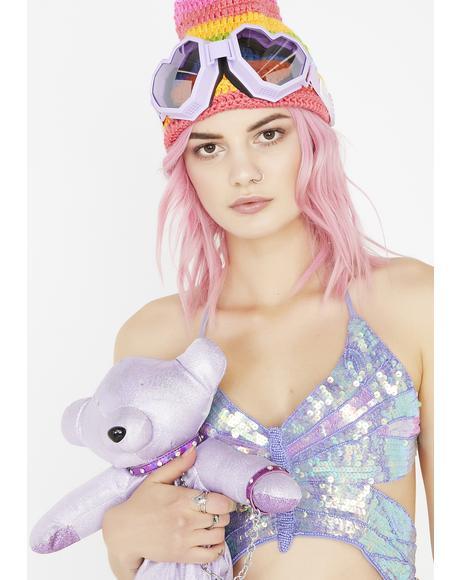 Purple Heart Goggles