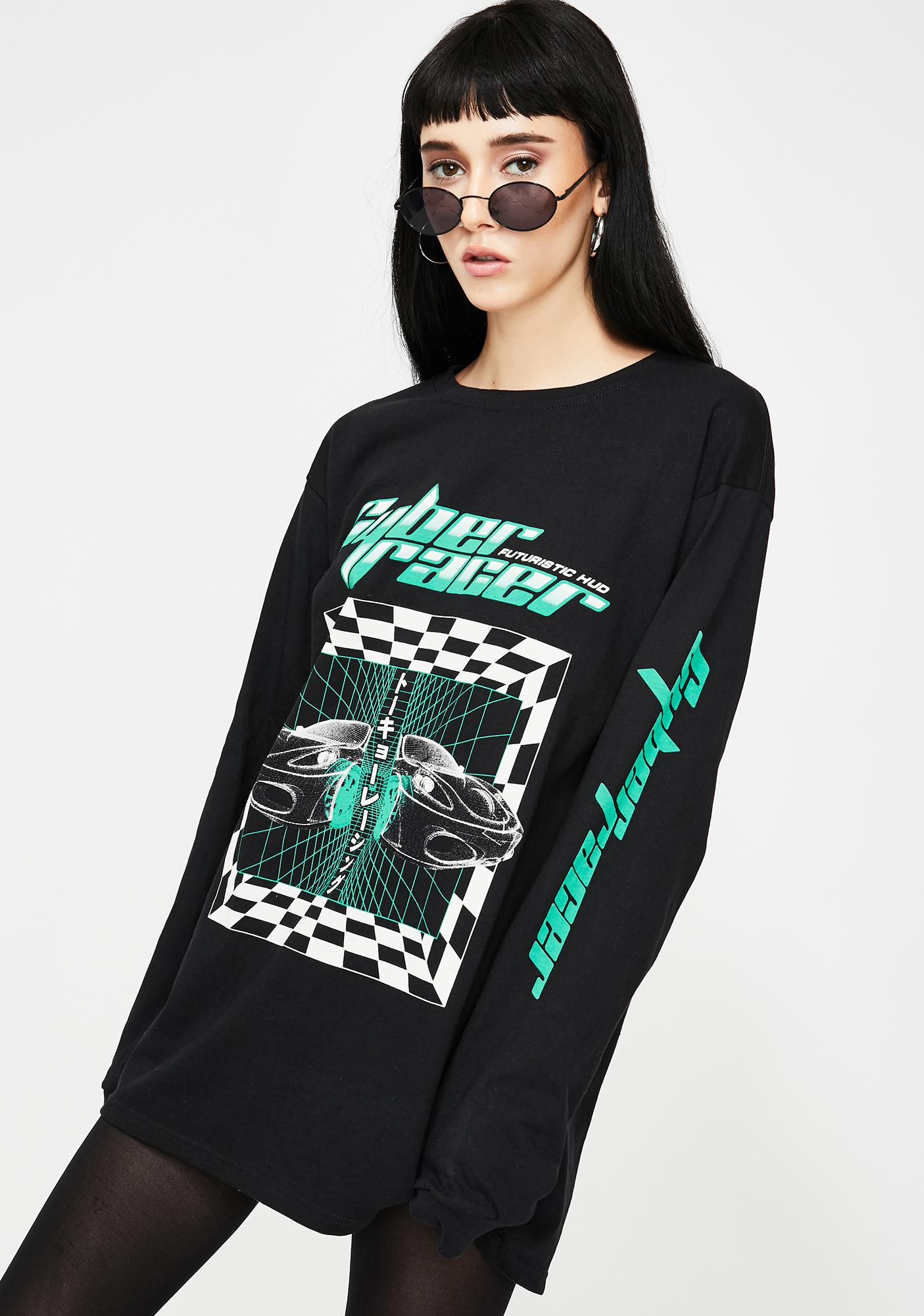 ILL INTENT Cyber Racer Long Sleeve Tee