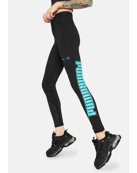 X First Mile Xtreme Women's 7/8 Training Leggings