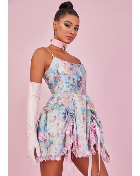 Divine Lush Opulence Corset Dress