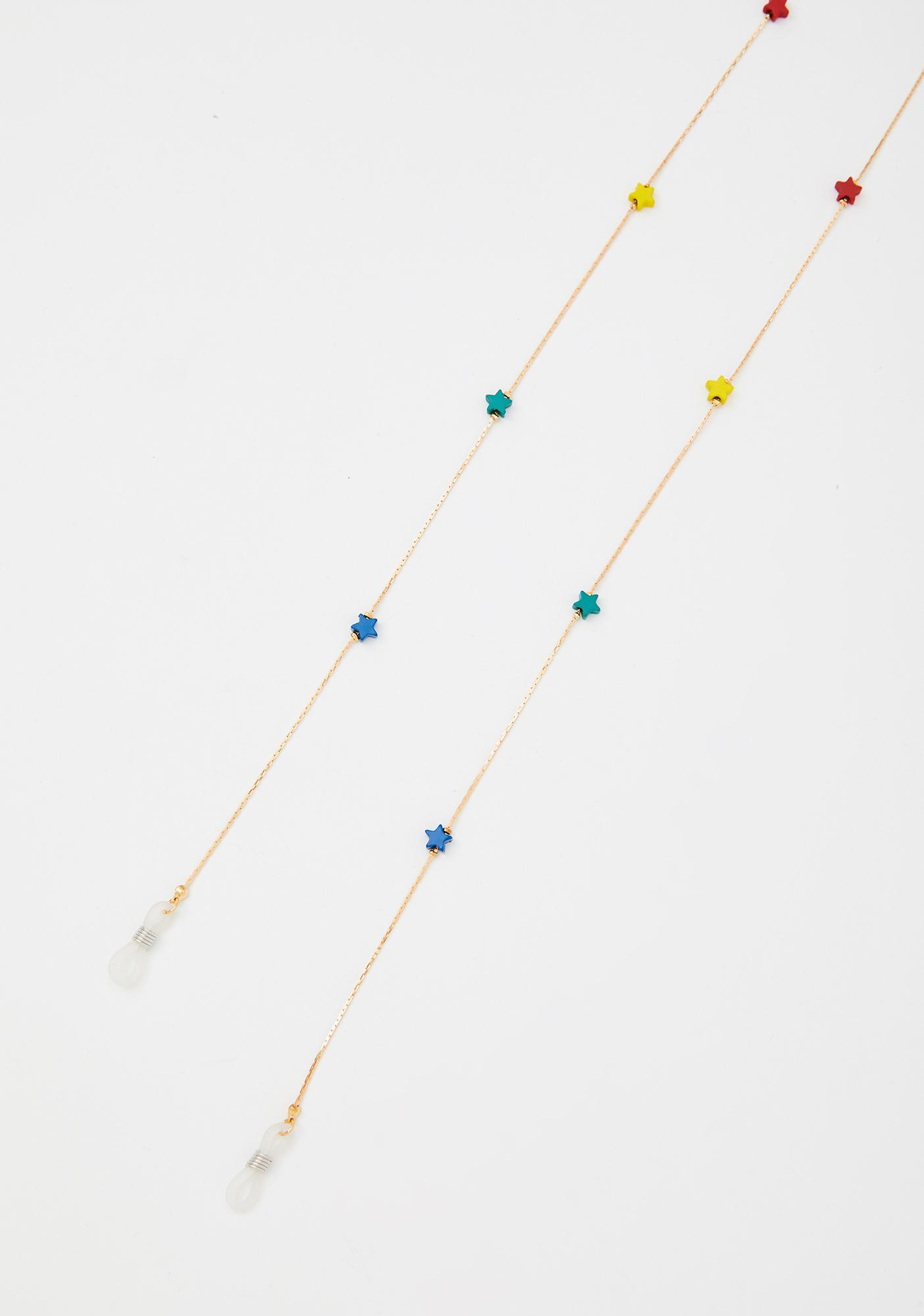 Starry Eyed Sunglasses Chain