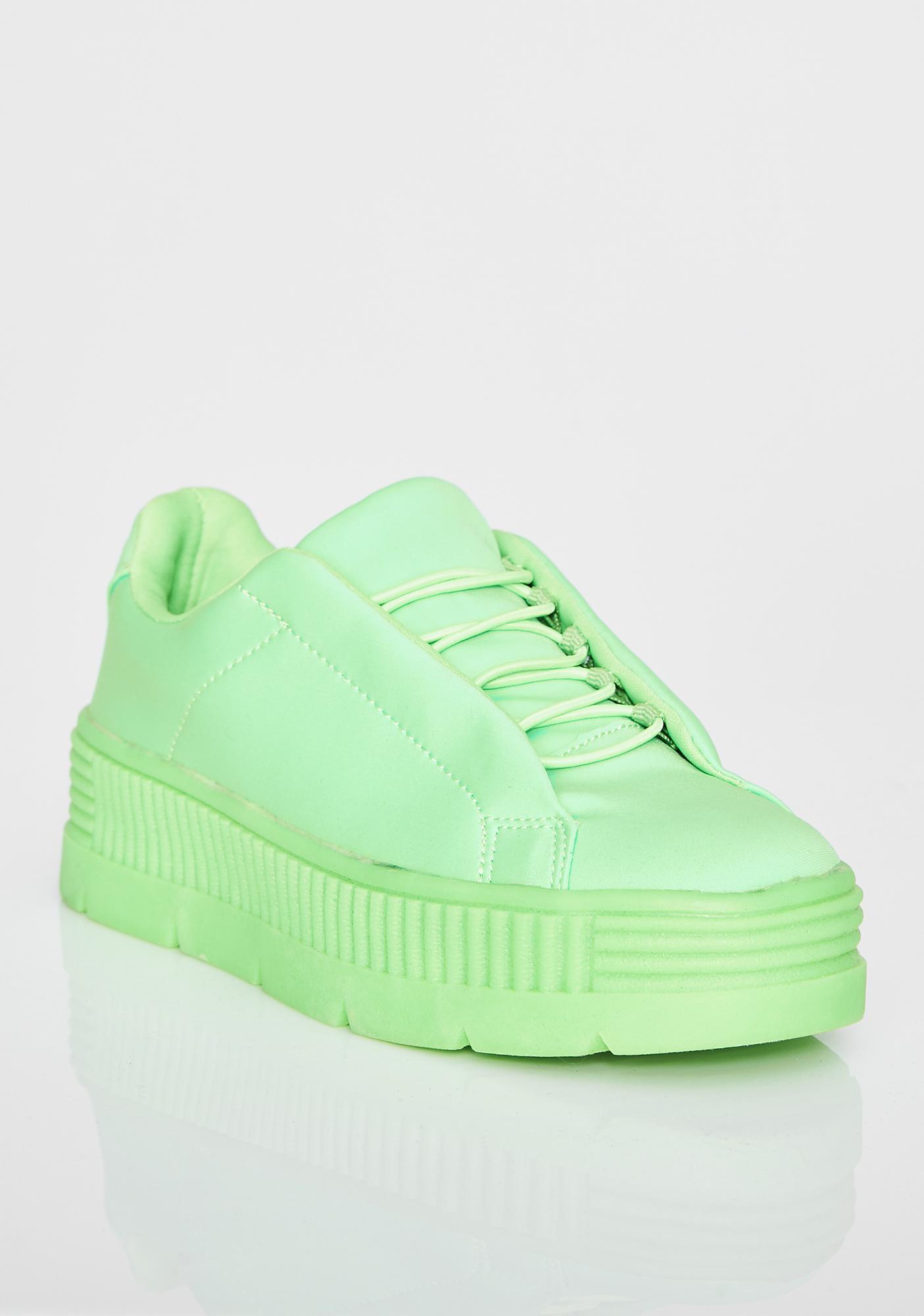 Slime Anti-Gravity Platform Sneakers
