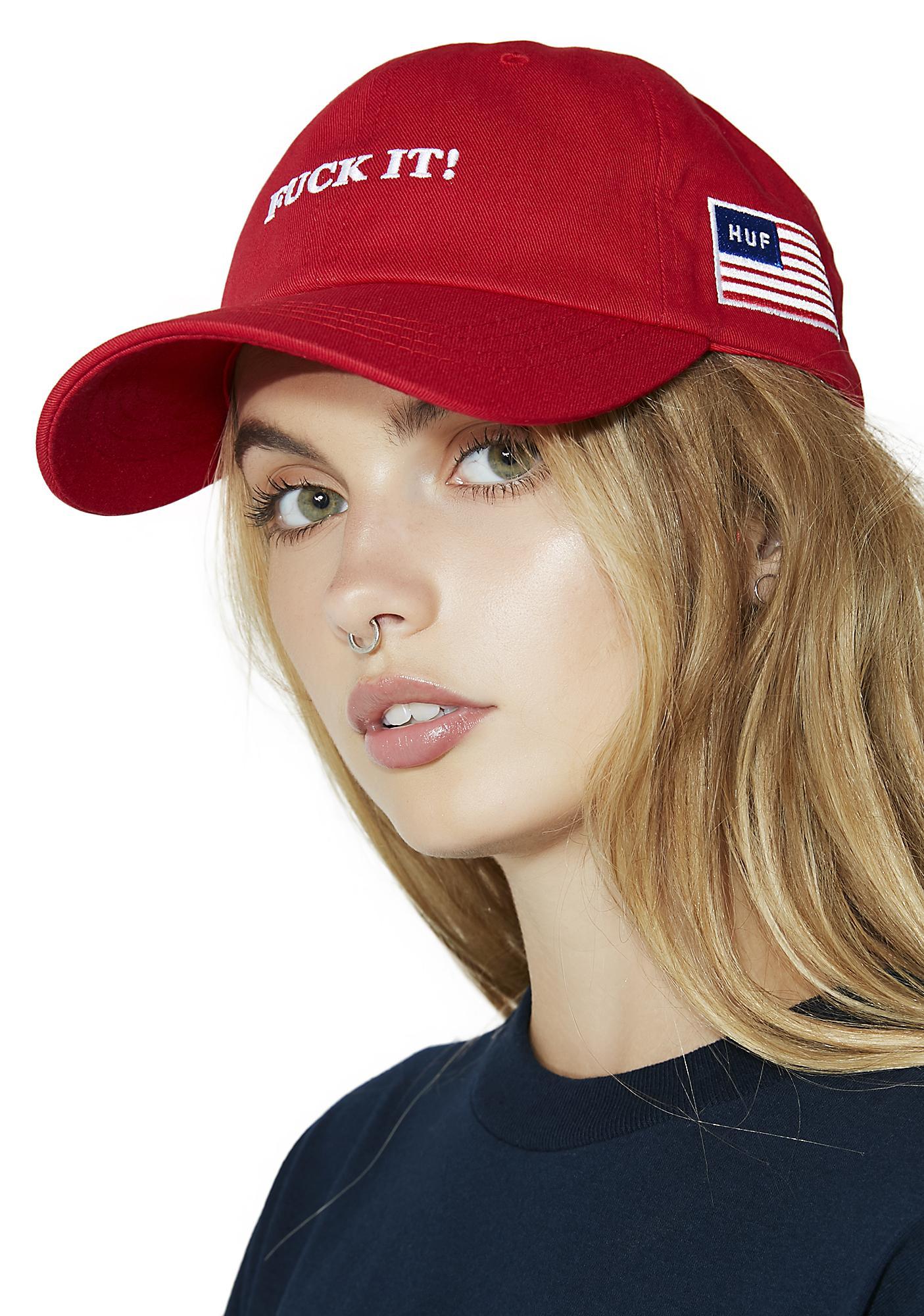 HUF Fuck It Dad Hat