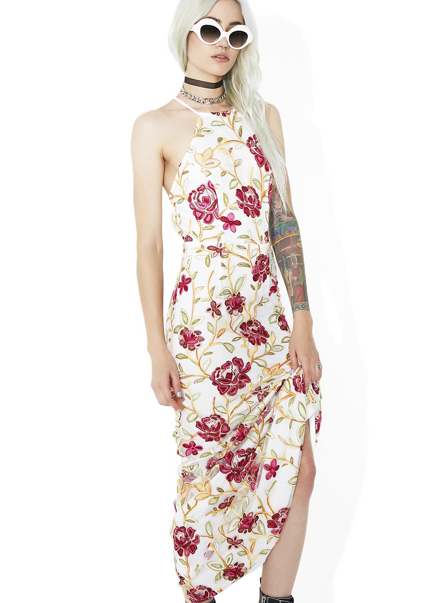 Eden Floral Maxi Dress
