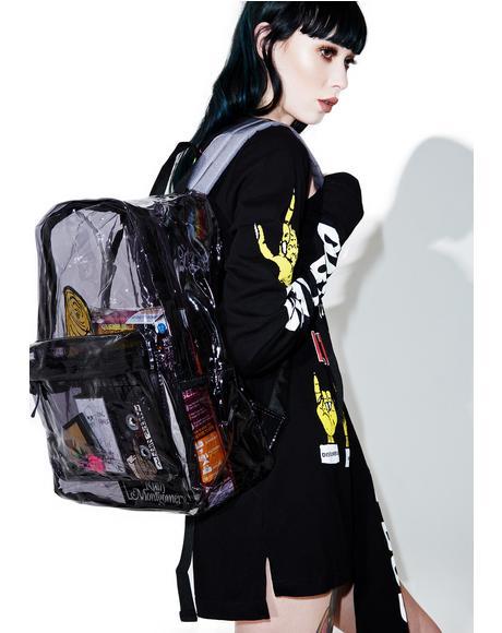 Dark Sunflyer See-Thru Backpack