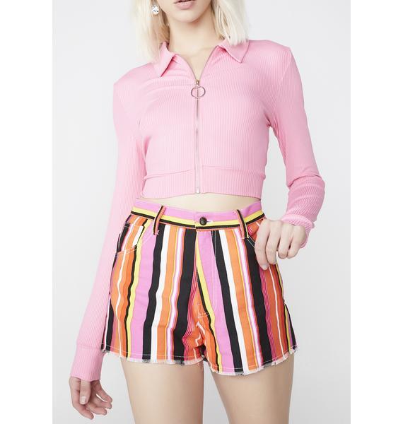 Cute Mistake Speakerboxx Denim Shorts