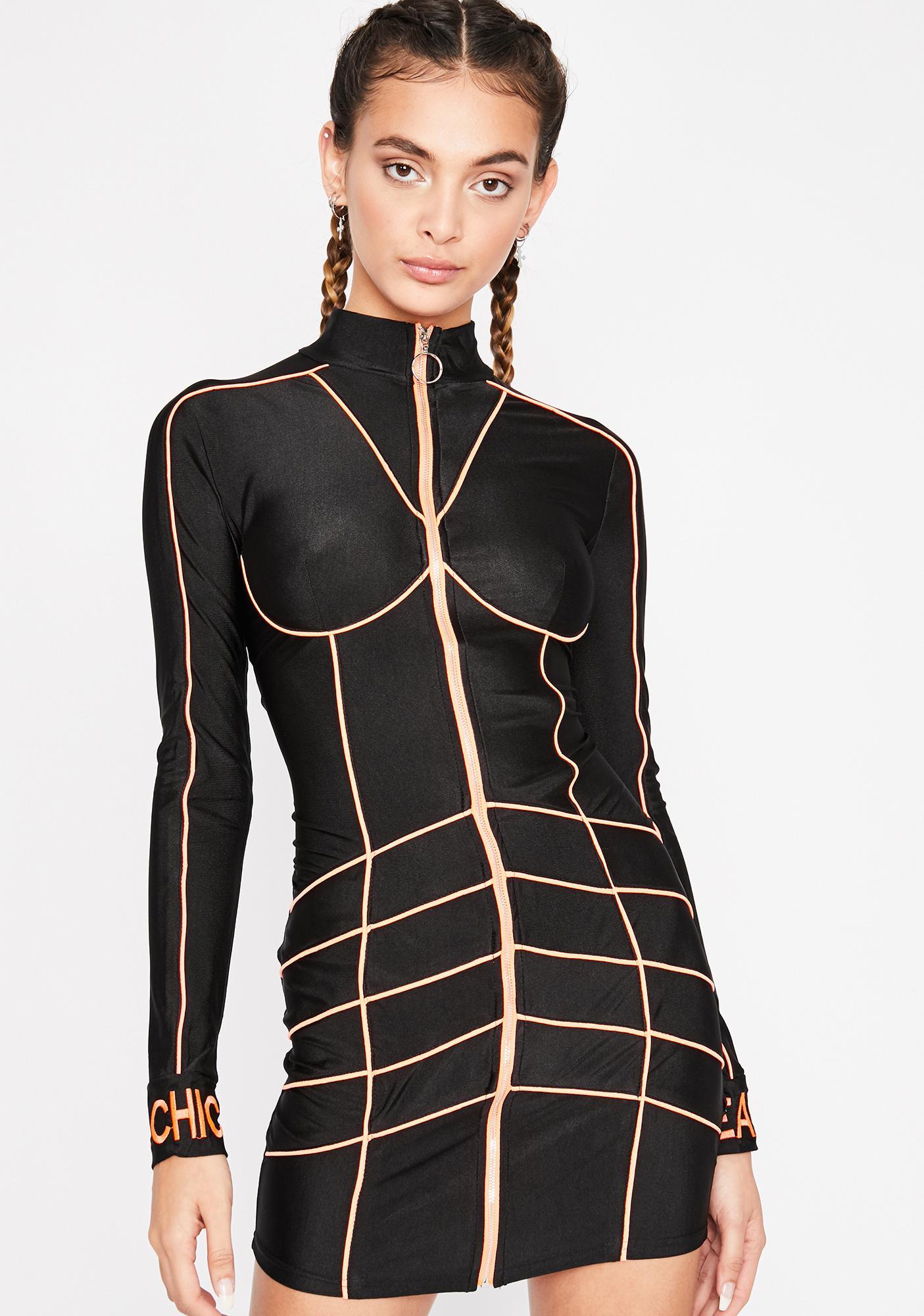 Dark Remix Riot Mini Dress