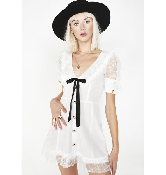 For Love & Lemons Royale Mini Dress