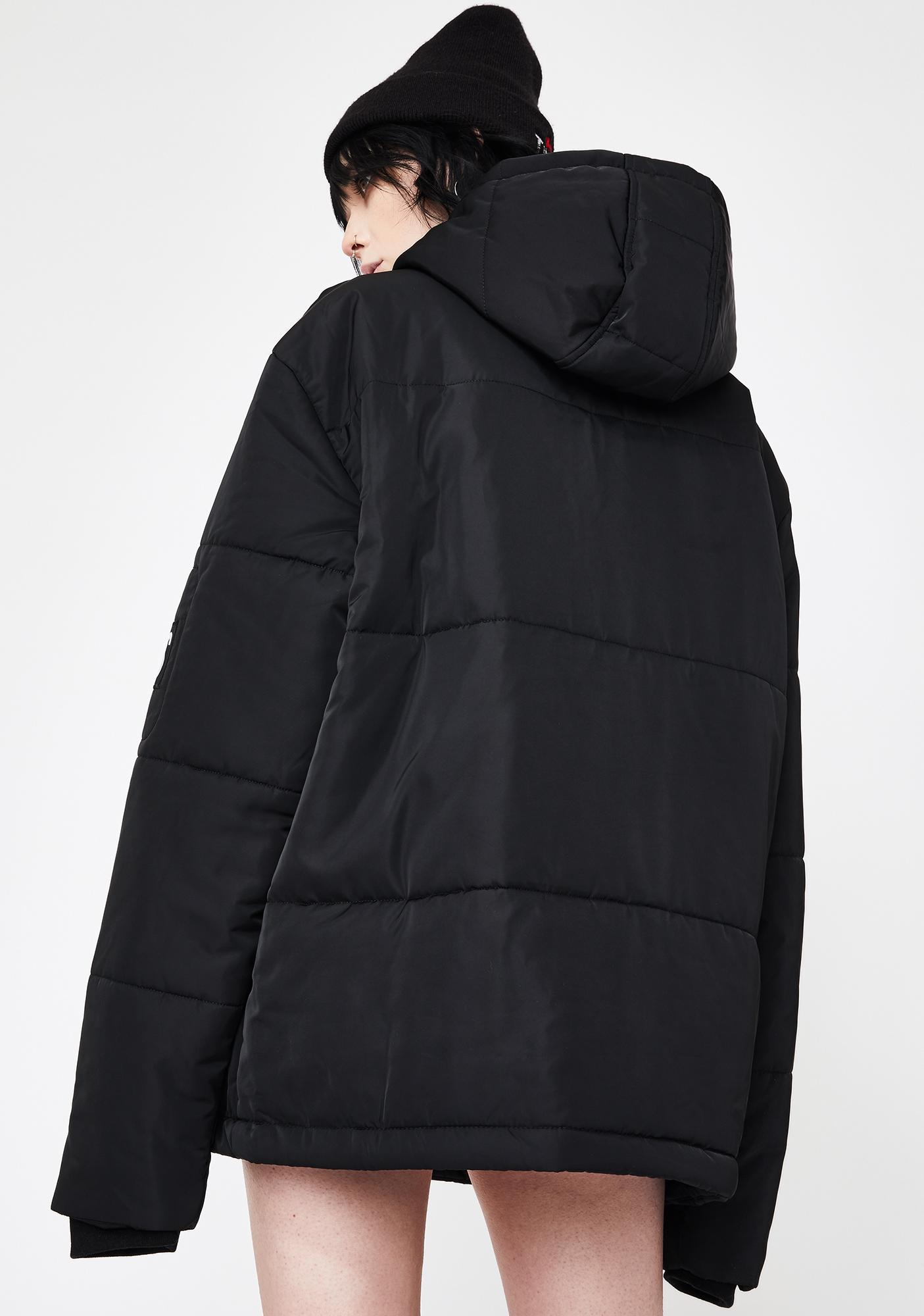 Disturbia Haute Patched Puffer Jacket